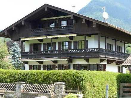 Eigentumswohnung mit Einliegerwohnung und Garten in Partenkirchen