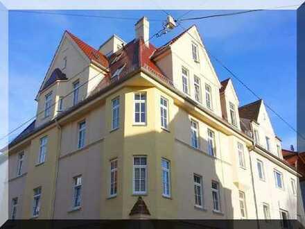 Augsburg-Oberhausen: Gemütliche 3 Zi-Whg. , Jugendstilhaus, 63m², 2. OG, Parkett, ab 01.08.19