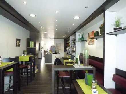 1A-Lage: Ladenlokal mit Außenstellfläche direkt am Borkener Marktplatz!