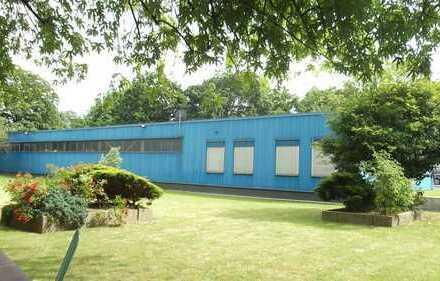 Zentral gelegenes (nördliche Innenstadt) Büro mit Lagerhalle zu vermieten