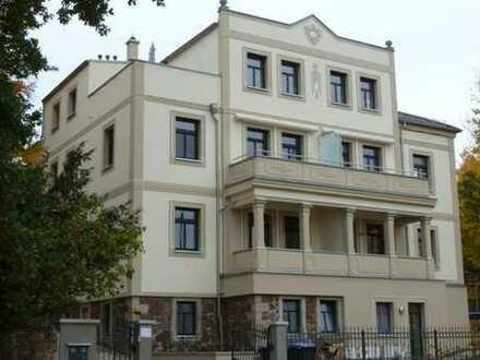 Exklusive 4-Zimmerwohnung mit Kamin und großer Terrasse mit Ausblick in Radebeul-Mitte