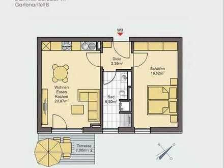 Neubau - Erstbezug ideale 2 zimmer Wohnung