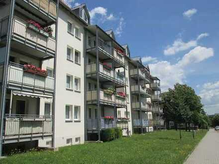 schöne 1-Raum-Wohnung in ruhiger Lage - in Hartmannsdorf