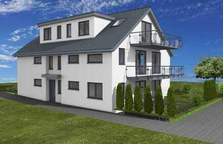 Erstbezug: Niedrigenergie A+, exklusive 2-Zimmer-EG-Wohnung mit hochw. Küche, Terrasse, Gartenanteil