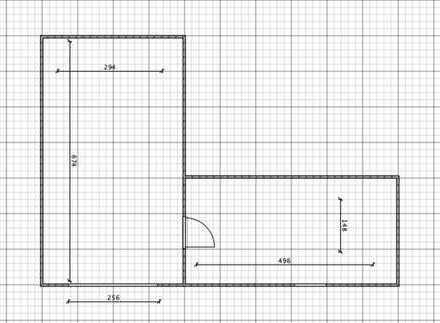 Garage mit Lagerraum / Kellerraum