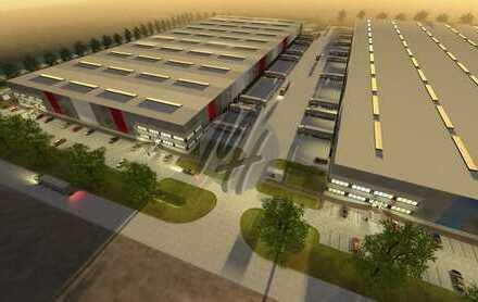 KEINE PROVISION ✓ NEUBAU ✓ Lager-/Logistik (20.000 m²/teilbar) & Büro (300-2.000 m²) zu vermieten