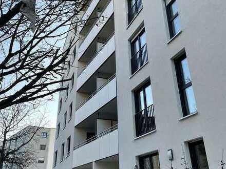 Erstbezug: 2-Zimmer-Wohnung mit Loggia im 3. Stock (+ Einbauküche)