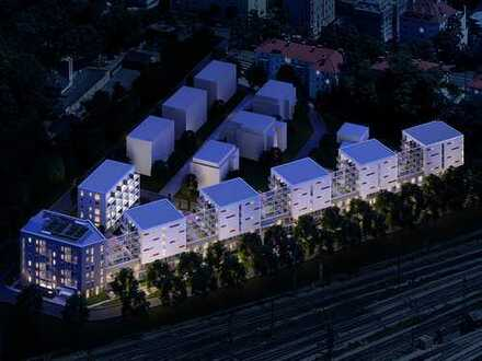Schönes 1,5-Zimmer Apartment mit effizientem Grundriss, Einbauküche und Loggia im Herzen Augsburgs