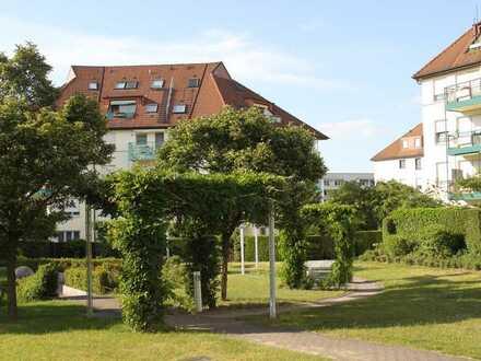 Ruhige 2-Zimmerwohnung in gepflegter Wohnanlage mit Blick ins Grüne