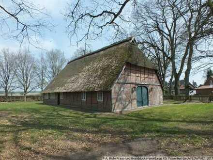 Historisches Reetdachfachwerkhaus unter Denkmalschutz