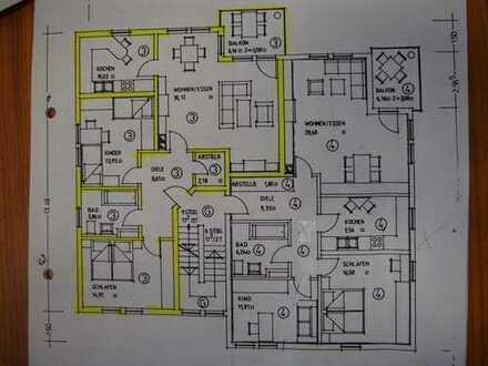 Exkl. 3-Zimmer-Wohnung mit Garage in bester Lage v. Forchheim