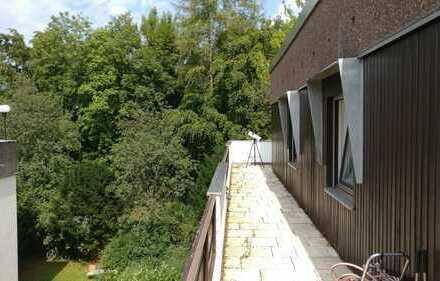180 m² Penthouse WG plus 150 m² dachterrase, Pool & Sauna