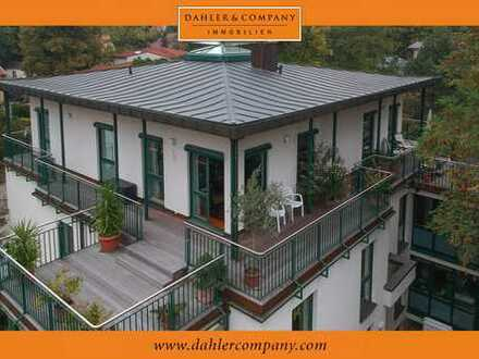 Dachgeschosswohnung mit umlaufender Terrasse in Bestlage der Nauener Vorstadt