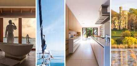 "~~~ Pole-Position ""Pool""-Blick: Luxus-Penthouse direkt am See, mit Seeblick und Privatzugang ~~~"