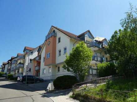 Wohnen in der Ortsmitte - exklusive 2-Zimmer-Wohnung mit großer Terrasse