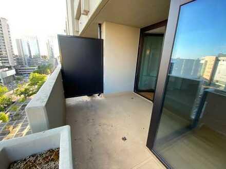 * * * teilmöbliert * modern * zentral * Balkon mit Fernblick