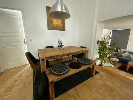 Provisionsfreie großzügige Maisonette - Wohnung in Offenbach mit KFZ-Stellplatz