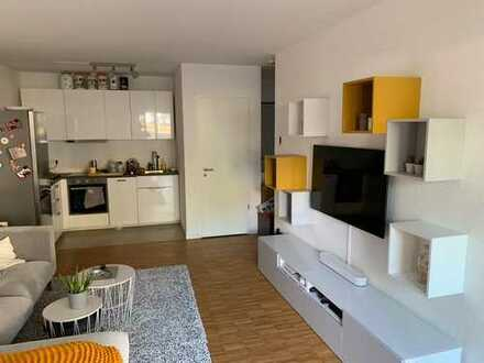 Nachmieter für Exklusive 2-Zimmer-Erdgeschosswohnung mit Terrasse in Darmstadt