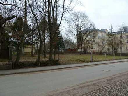 Grundstück in der Glauchauer Unterstadt