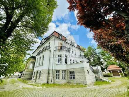 """""""Villa Adelheid"""" - Hochwertige 5 Raum Wohnung + 3 Räume im DG in imposanter historischer Villa!"""