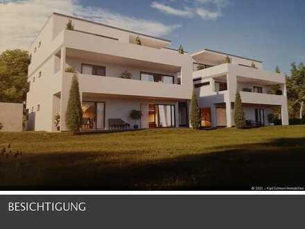 traumhafte und anspruchsvolle Neubau Wohnung 3 ZKB mit Terrasse in toller Lage in Homburg-Kirrberg