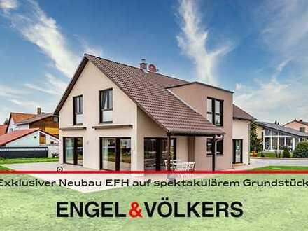 Großzügiges KfW55-Architektenhaus (Baujahr 2019) in der Nähe von Grünstadt!