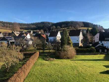 Ansprechende 4-Zimmer-Wohnung mit Balkon in Hilchenbach-Allenbach