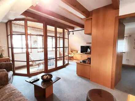 2 Zimmer Dachgeschoßwohnung in Badenweiler