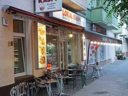 gute Lage in Friedrichshain - Café / Bäckerei für diverse Nutzungsmöglichkeiten auch mit Vollküche