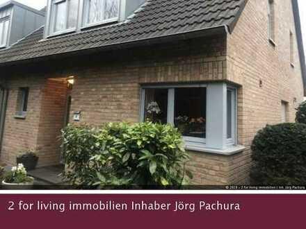 Attraktive Doppelhaushälfte mit schönem Außenbereich und Garage in ruhiger Wohnlage!