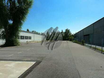 KEINE PROVISION ✓ NÄHE BAB ✓ Befestigte Freilagerflächen (1.800 m²) zu vermieten