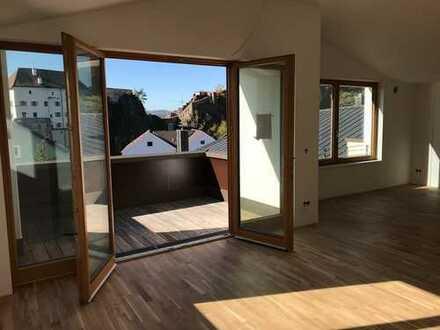 Exklusive 2,5-Zimmer-DG-Wohnung in Passau/Ilzstadt | Erstbezug mit Balkon