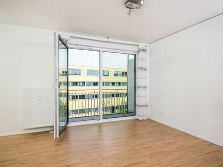 Neuwertiges 1-Zimmer-Apartment mit Balkon u. EBK für Studenten