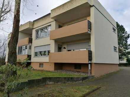 *Sehr schön aufgeteilte u.großzügige 3-1/2-Zi-ETW m.Balkon u.Einzelgarage in Pforzheim-Hachelgebiet*