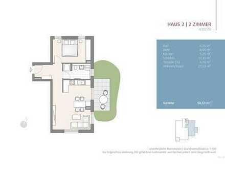 *BESICHTIGUNG SONNTAG 11-13 UHR* 58 m² Wohnen - 120 m² Garten! (202)