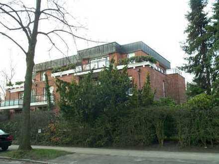 Vermietete 2-Zimmer-Penthouse-Wohnung ca. 100 m² inklusive Tiefgarage in ruhiger Südlage, 2. OG/Lift