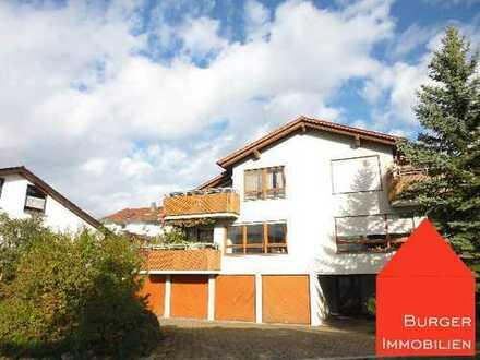 Helle 4,5-Zimmer Wohnung mit Balkon, Garage, Stellpl. u. Garten in ruhiger Wohnlage in Enzberg