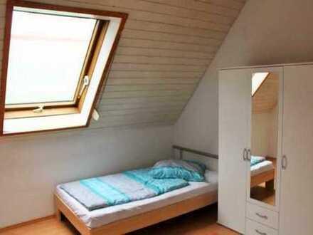 schon ab 1 Monat mietbar: möbl. Zimmer mit Wlan, löffelfertig, Online buchen ganz flexibel und einzi