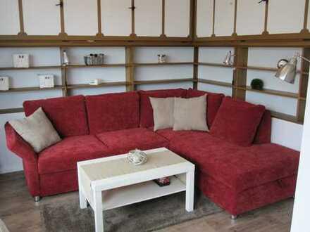 schöne,möblierte 1-Zimmer-Wohnung mit Balkon und EBK in Horumersiel