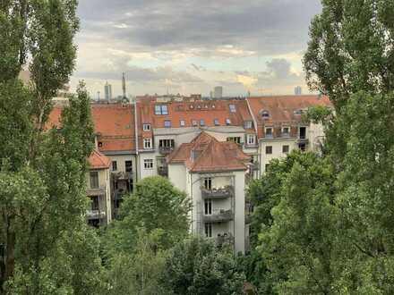 **Hammerblick über Neuhausen und Nymphenburg im 8.OG** befristet für 5 Jahre