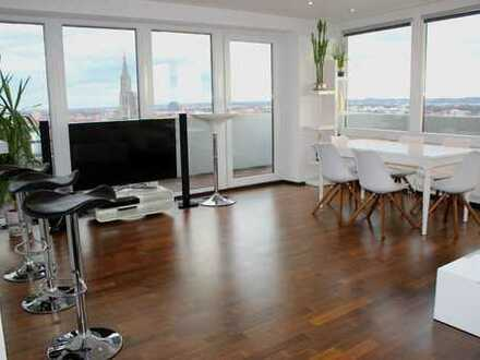* Penthouse Flair – Panoramablick über Ulm *