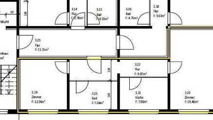 Erstbezug nach Sanierung mit Einbauküche: ansprechende 2-Zimmer-Wohnung in Boizenburg/Elbe