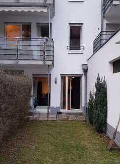 Exklusive 1,5-Zimmer-Gartenwohnung im Herzen von Schwabing