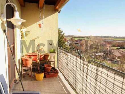 Attraktive Gelegenheit im Herzen des Naturparks: Bewohnte 3-Zi.-ETW mit Balkon in Schillingsfürst