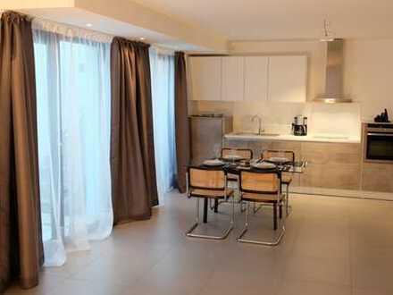 Erstbezug: exklusives, teil- oder vollmöbliertes 1-Zimmer-Apartment in Ditzingen