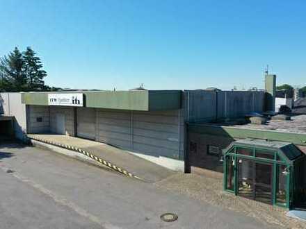 ASMUSSEN - IMMOBILIEN - Lagerhalle 758 m², Büro 328 m², Grundstück 3.962 m²