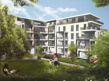 WOHNEN AM PARK - Luxuswohnung mit 40m² großen Dachterrasse in Südausrichtung!