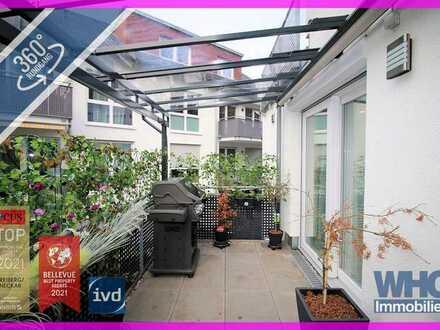Neuwertige 3,5-Zimmer-Wohnung mit Balkon, einem Tiefgaragenstellplatz und einem Pkw-Stellplatz