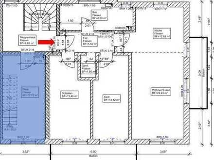 freundliche 3-Zimmer-Wohnung inkl. Küche, 2x Balkon, Kellerraum in Ampfing