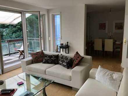 Schöne und großzügige 3,5-Zimmer-Wohnung mit Blick ins Grüne